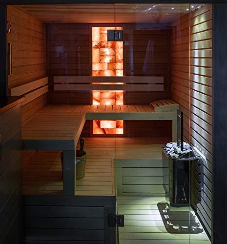 Sentiotec Nordex hot.line finnischer Saunaofen Saunaheizgerät 6/8 / 9 kW optional mit Saunasteine (6 kW, Ohne Saunasteine)