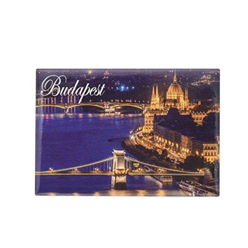 Kesheng Magnet Budapest Wien für Whiteboard Kühlschrank Souvenir Reise Geschenk MEHRWEG
