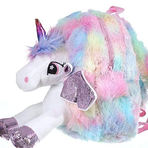 FunBlast Unicorn Soft Bag for Kids – School & Picnic Bag for Baby,Boys,Girls / Lightweight Travel School Mini Backpack for Kids - Multi Color