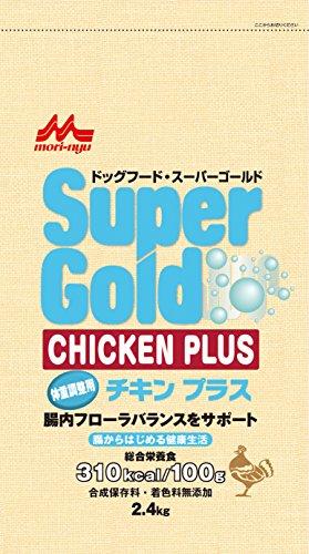 森乳サンワールド スーパーゴールド『チキンプラス 体重調整用』