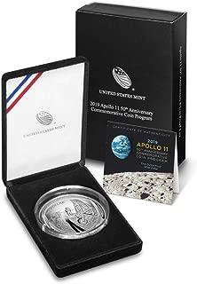 2019 P Apollo Apollo 11 50th Anniversary 2019 Five Ounce Proof Silver Dollar $1 Proof US Mint DCAM