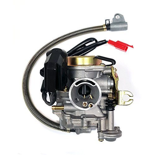 MMG Performance Adjustable Carburetor with electric choke for 50cc 80cc GY6 QMB139 4-stroke engines
