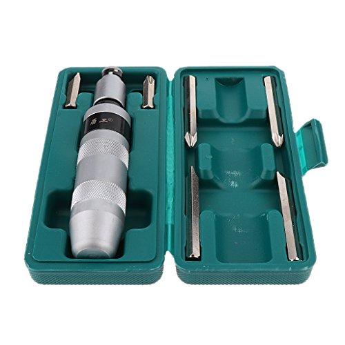 Phillips 1/2 Destornillador de Impacto de Impulsión Manual con Brocas Herramienta Manuales