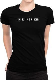 Idakoos Got Nu Style Gabber? Linear Women T-Shirt
