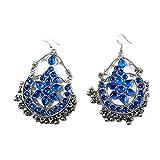 India Meets India Afghan Banjara Beaded Earring Chandbalis Jhumka Kutchi Gypsy Tribal Jewellery