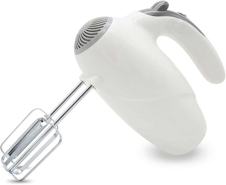 Batteur à Oeufs électrique portable Oeuf Scrambler Outil De Cuisson Accueil 5 Bloc Eggbeater,blanc
