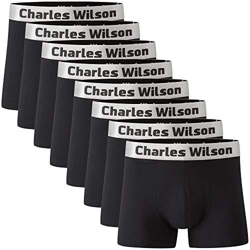 Charles Wilson Calzoncillo Bóxer de Hombre 8 Unidades