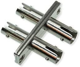 ST ST Female Coupler | Duplex Singlemode or Multimode ST Female to ST Female Coupler/Adapter | FiberCablesDIrect | mm sm dx st-st couplers single-mode st/st coupler