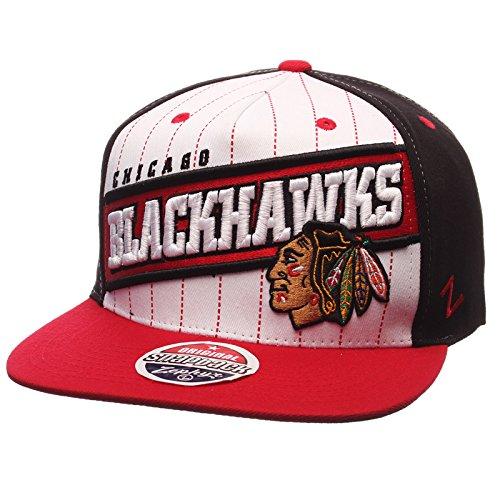 Zephyr Chicago Blackhawks Recharge Snapback Hat