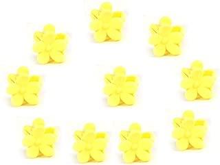 X-SPORT Mini Hair Claw Clip Hair Pin For Little Girls Hair Clip Mini Hair Claws Hair Bangs Clip 10PCS
