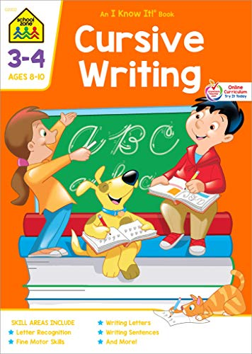 Cursive Writing: I Know It! Workbooks