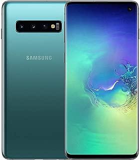 Samsung Galaxy S10 128GB / 8GB RAM SM-G973F Hybrid/Dual-SIM Factory Unlocked 4G/LTE Smartphone - International Version (Prism Green)