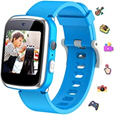KeBuLe Kids Watch Educational Electronic Toys Touch Screen Smart Watch Toys for 4-10 Year Old Boys Girls Toddler Watch HD Dual Camera Watch Birthday for Kids USB Charging