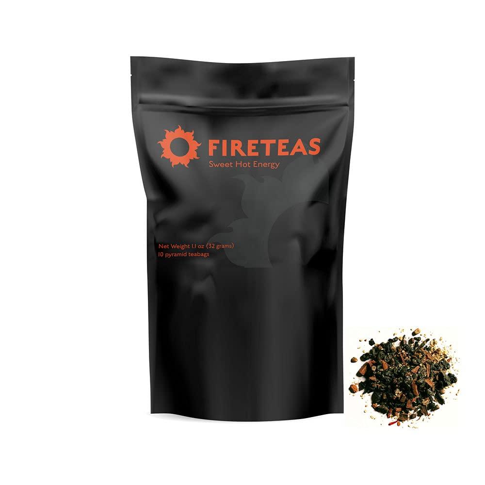 Branded Now free shipping goods FIRE TEAS Sweet Hot Saffron Energy - Ginger Cinnamon Saffr Tea