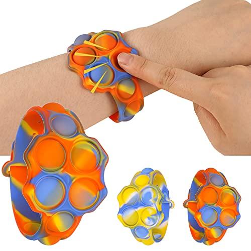 pop it x2 Auidy_6TXD 2 Pezzi Push Pop Bubble Sensory Fidget Toy