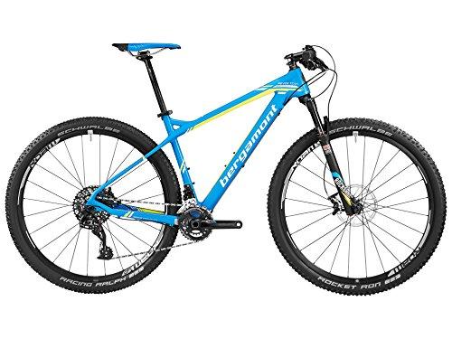 Bergamont &apos Revox Team 29Carbono MTB Bicicleta Azul/Amarillo 2016