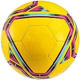 qzpyy Ballon de Football Sport Taille 3 4 5 Ballon de Soccer Intérieur en Plein Air Doux Éponge Mousse Ballon D'entraînement pour Adultes Et Enfants Garçons Filles Enfants-3_Jaune