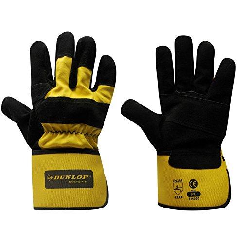 Dunlop Herren Rigger Deluxe Handschuhe Arbeitshandschuhe Mehrfarbig Erwachsene
