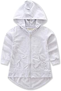 ALLAIBB Little Baby Boys Jacket Dinosaur Hooded Outerwear Spring Fall Outfit