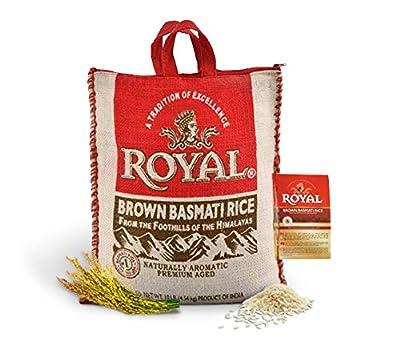 Kusha Royal Brown Basmati Rice 10 Pound