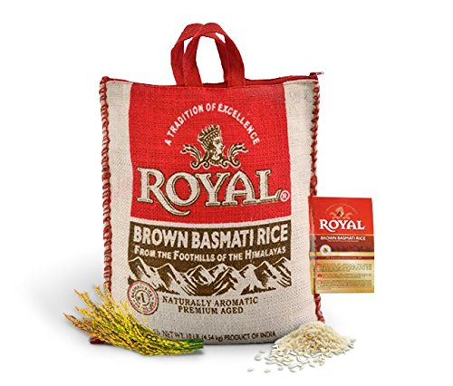 Royal Brown Basmati Rice 10 Pound