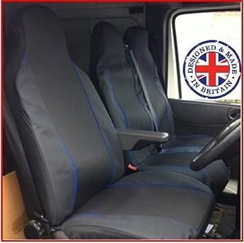 Transit van single passenger seat