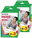 FujiFilm Instax Mini Film (40 Fotos) Multi Pack para Mini 8-9 y...