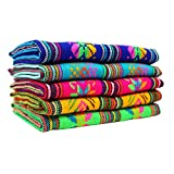 Mexican Fabrics Bundle, Fabric Aztec by The...