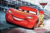 Tainsi Disney Cars 3 'McQueen Run' - Poster-11 x 17 pulgadas, 28 x 43 cm