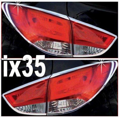 Hyundai ix35 BJ 2010-2015 Chrom Heckleuchten Rahmen Tuning Zubehör