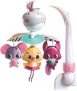 Tiny Love Mobile de Voyage Musical 3 en 1 pour Bébé, 5 Mélodies, Compatible avec les Poussettes, dès la Naissance, Collect...
