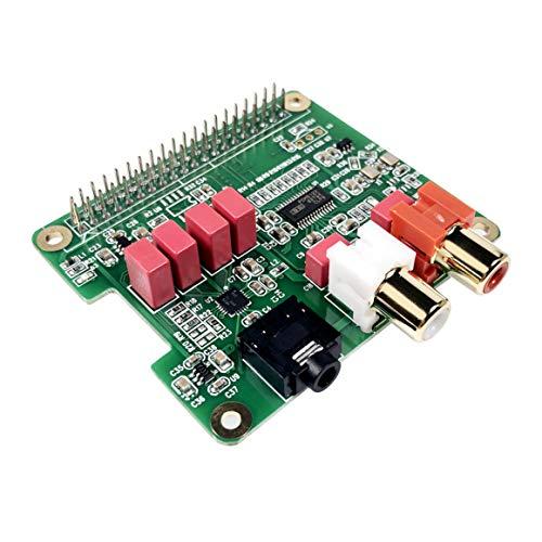 InnoMaker Rasp Pi HiFi DAC Hat PCM5122 Audio Sound Card Expansion Board for Raspberry Pi 4 3 B B+ Pi...