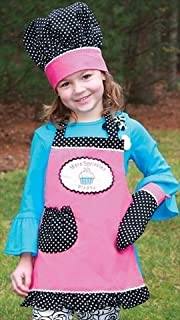 Manual Woodworkers Izzy Collection More Sprinkles Kids 3-Piece Apron Set