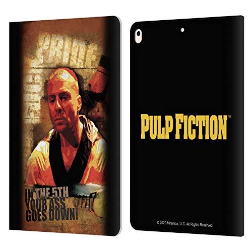 Head Case Designs Licenza Ufficiale Pulp Fiction Butch Arte Cover in Pelle a Portafoglio Compatibile con Apple iPad Air (2019)