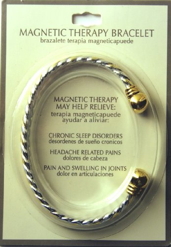 Magnetic Therapy Fashion Jewelry Bracelet Open Ended Design