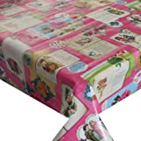 d-c-fix Wachstuch Wachstischdecke Tischdecke Gartentischdecke Engel Pink Breite & Länge wählbar 80 x 60 cm Eckig abwaschbar Lebensmittelecht