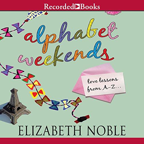 Alphabet Weekends audiobook cover art