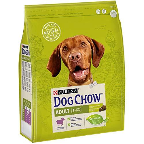 Purina Dog Chow Comida Seco para Perro Adulto con Cordero - 2.5 Kg