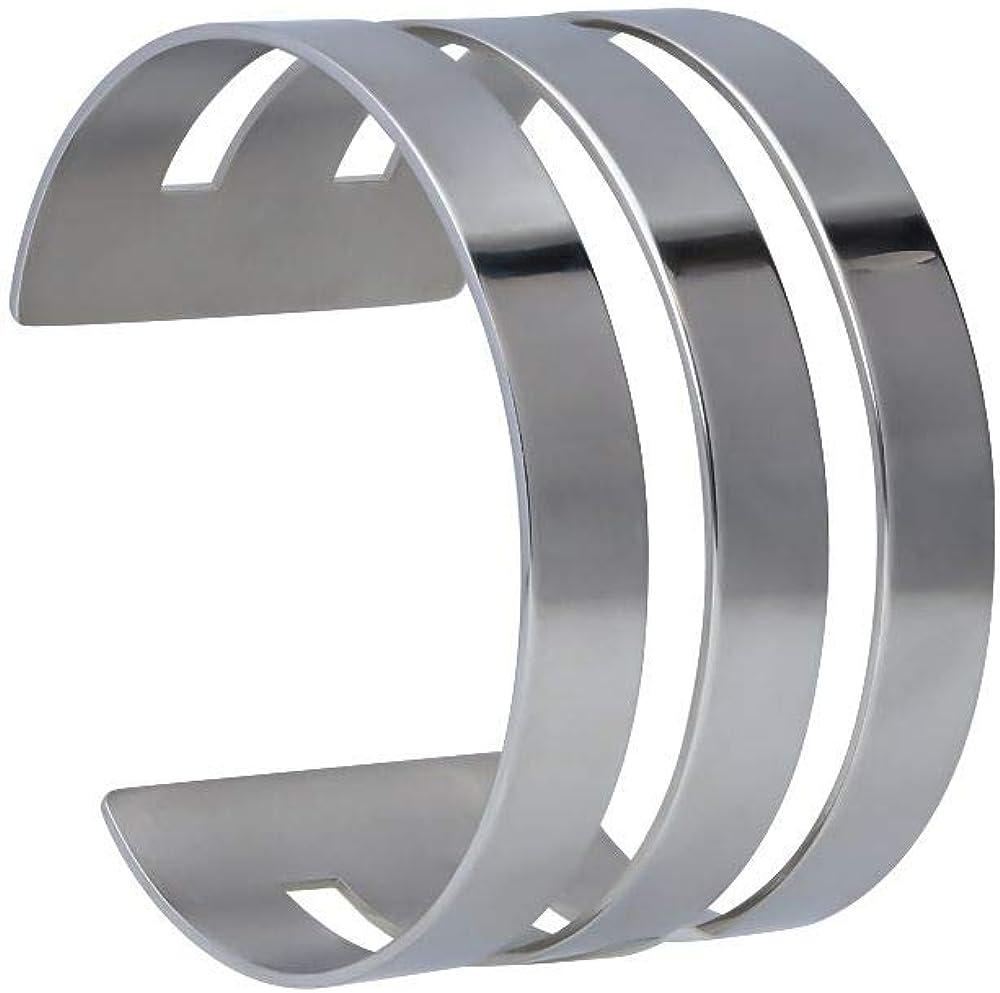 Stroili bracciale bangle rigido in acciaio per donna 1666047