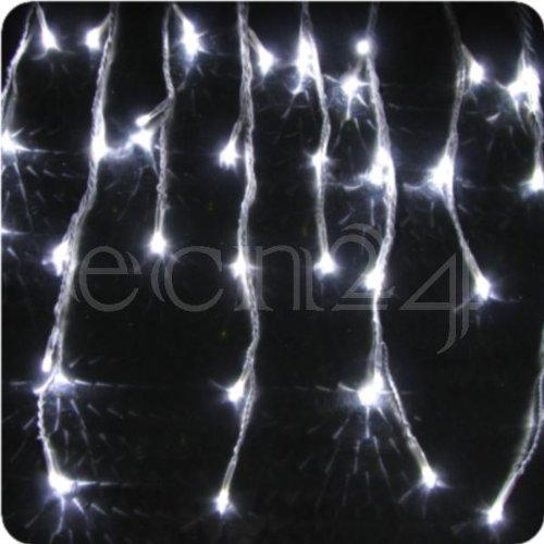 Guirnalda lumin. estalactitas LED Efecto nevada 8m