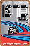 OSONA Racing Series Illustration 1973 Dijon Porsch Retro