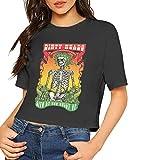 Photo de John J Littlejohn T-shirt à manches courtes pour femme - Imprimé Dirty-Heads - Confortable