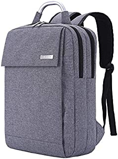 School Bag Laptop bag Travel Bag Suitable for Students office workers 15 Inches-Grey