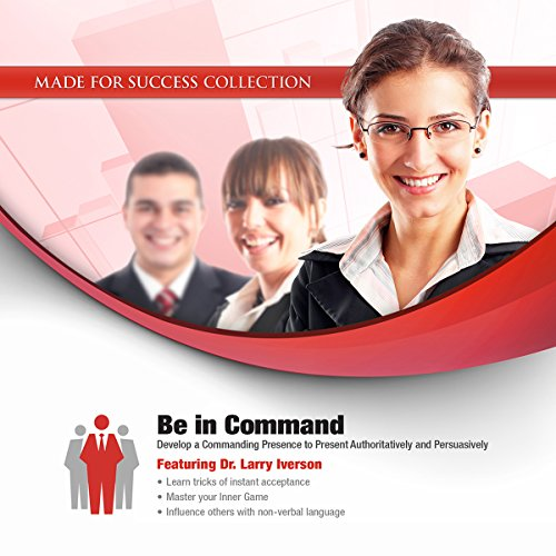 Be in Command audiobook cover art