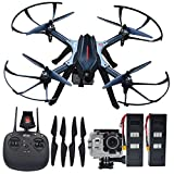 Blomiky B3H 4K Altitude Hold Ultra HD 4K 2160P 1440P 1080P RC Quadcopter Drone with 16.0MP Camera Motor Brushless Aircraft Bonus Battery B3H4K