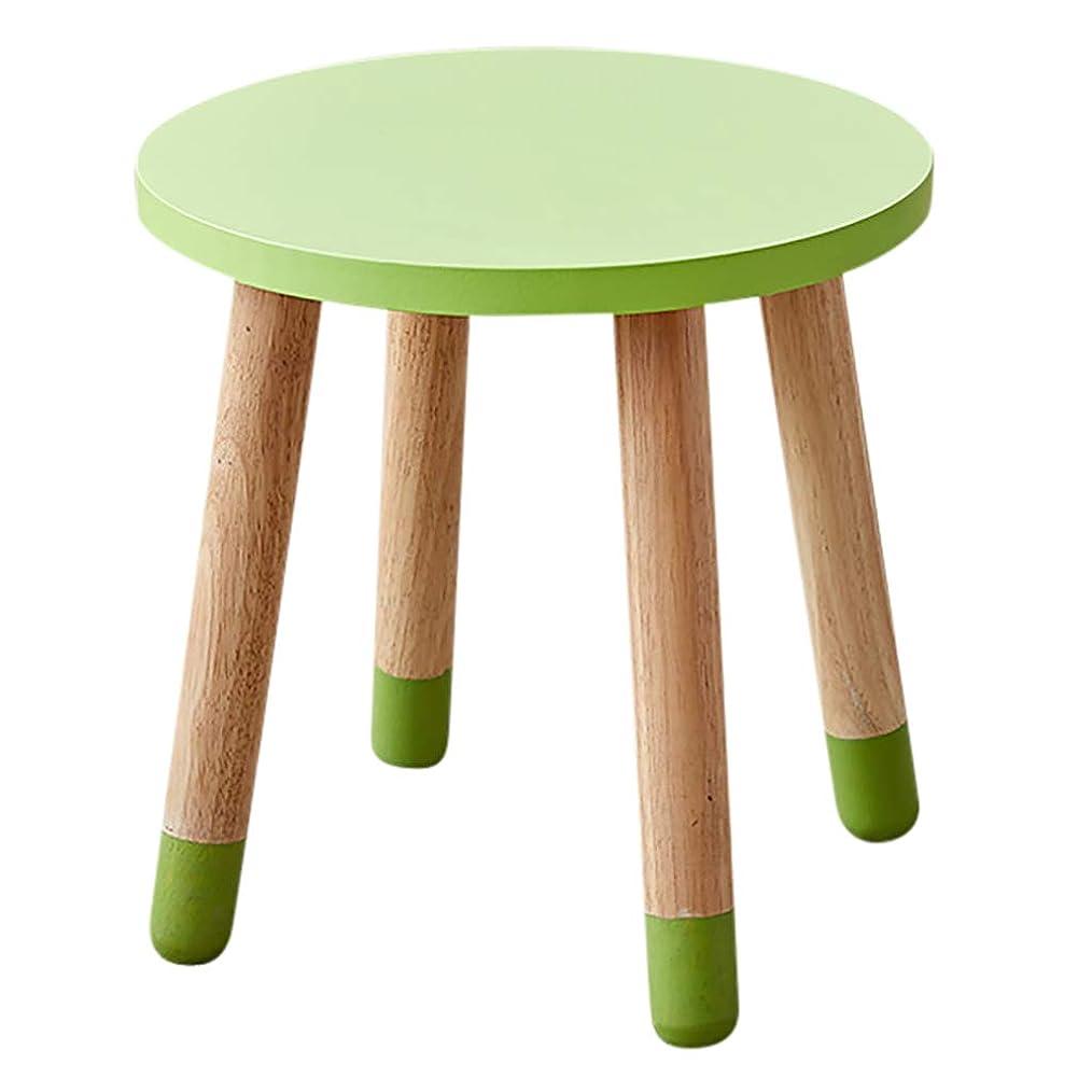 コミュニケーション酒着陸ラウンドナチュラルハードウッドテーブル、子供用テーブルとチェアセット、純木活動テーブル