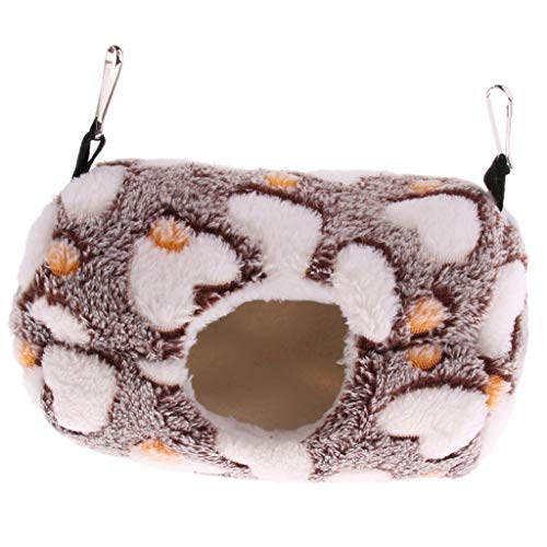 Amuzocity Hamster Hammock Cage That Hangs Small Animals in Comfortable Winter Nest Cage