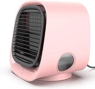 LINWEI Mini acondicionador de Aire portátil de la casa Aire Acondicionado purificador del humectador del USB de Escritorio del refrigerador de Aire del Ventilador for la Sala de Oficina (Color : C)