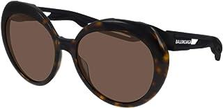 Balenciaga - Gafas de sol BB0024S 001 habana brown tamaño de 58 mm de gafas de sol de las mujeres