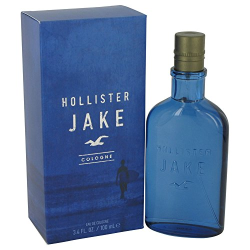 Hollister Jake | 3.4 oz Eau De Cologne Spray | Fragrance for Men